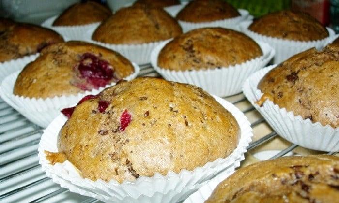 Muffini z visnjami