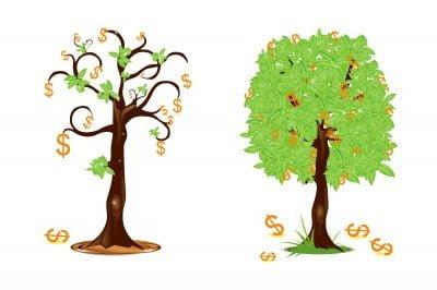 Denar in / ali življenje!
