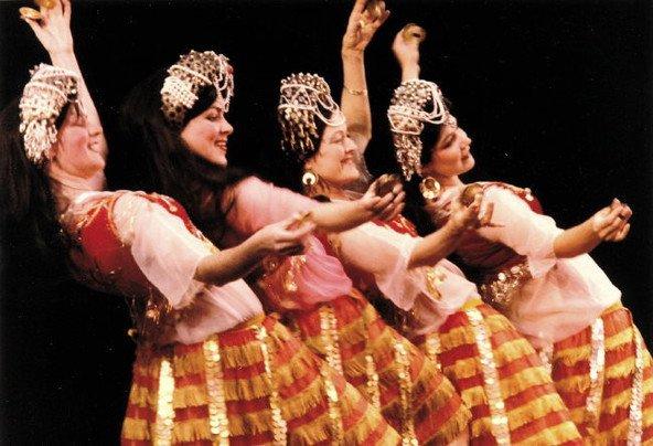 Ghawazee plesalke, orientalski ples – ples ženske duše