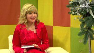 """Milena kot gostja v oddaji """"Moja sLOVEnščina"""" na TV Vaš kanal"""