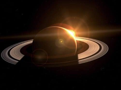 Moč tišine ali veličastnost Saturna