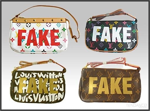 My Vuitton is a Fake  m