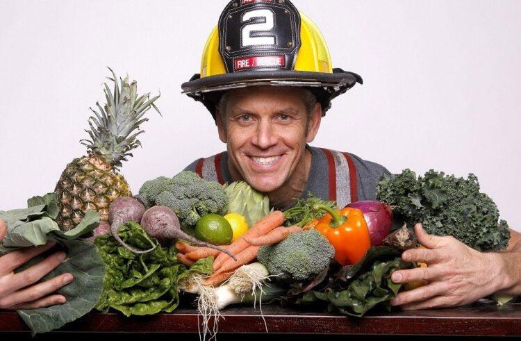 Rip with veggies