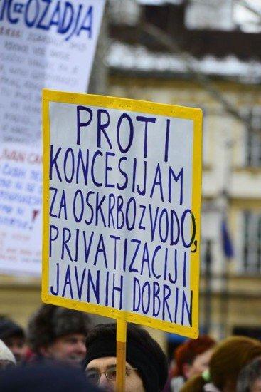 protest voda m