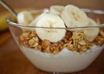 jogurt z banano