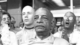Absorbed Both By The Mind and Intelligence Twenty four Hours Thinking of the Lord Prabhupada