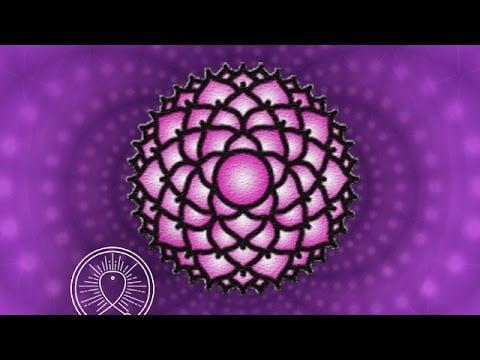 Binaural Beat Crown Chakra Meditation Healing Meditation Music Relax Mind Body Sleep Meditation
