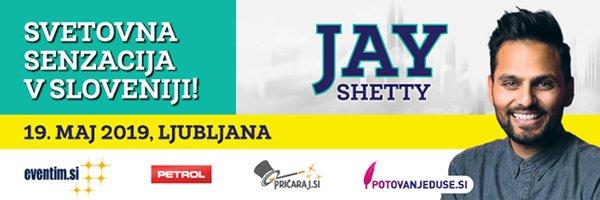Jay Shetty s Sloveniji