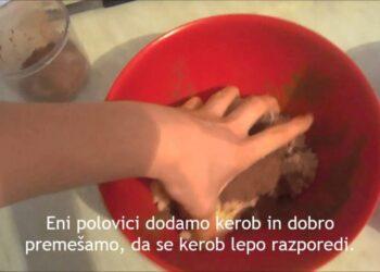 Vedska kuharija Kokosova rolada