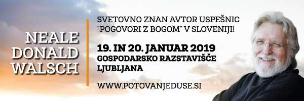 Neale Donald Walsch - Slovenija 19.1 - 20.1.2019