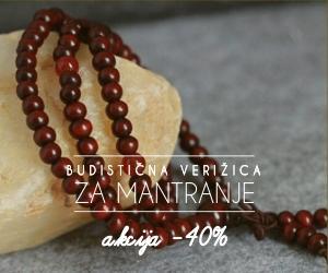 Budistična verižica za mantranje – 108 kroglic