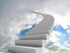 Po stopničkah navzgor