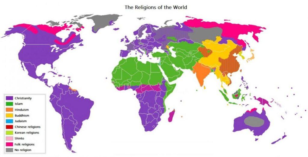 religije po svetu
