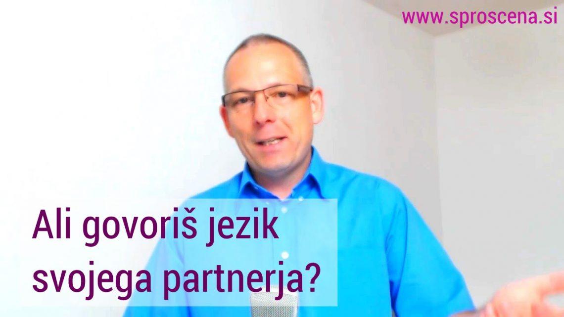 Ali govoriš jezik svojega partnerja? 1