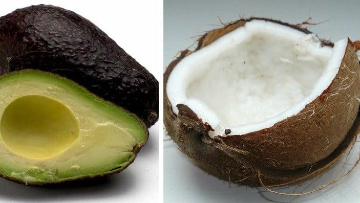avokado kokos