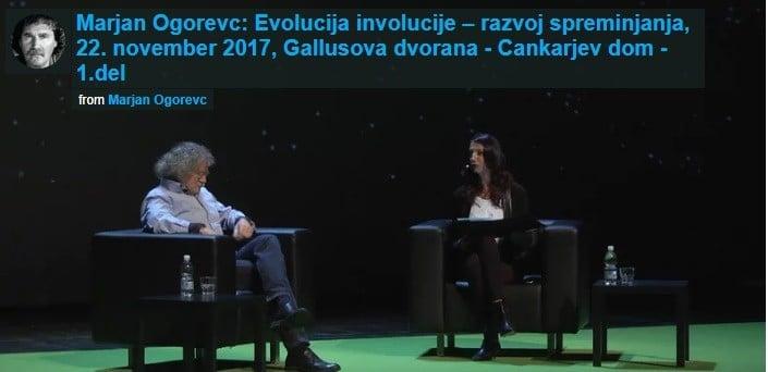 Marjan Ogorevc: Evolucija involucije – razvoj spreminjanja 17