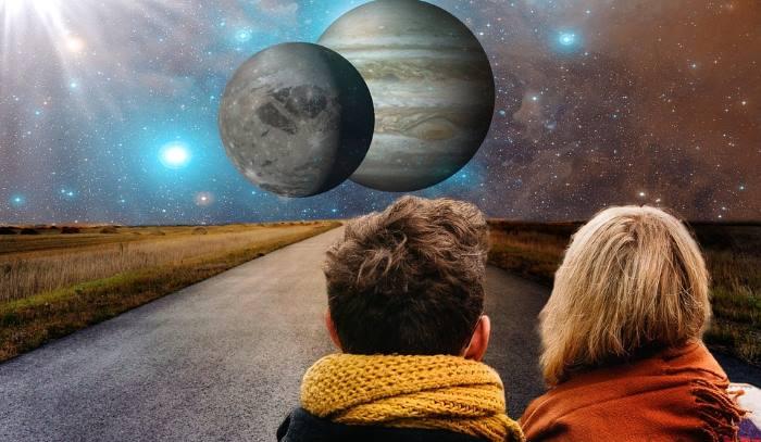 Zvezdne novice, prvi Lunin krajec, v času kozoroga 1