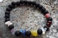 Zapestnica lava in sedem kristalov za sedem čaker
