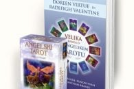 Angelski tarot komplet: Karte + Velika knjiga o tarotu