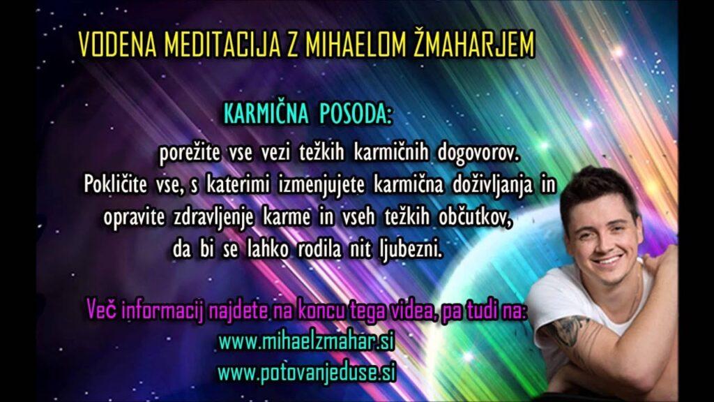 KARMIČNA POSODA: Vodena meditacija z Mihaelom Žmaharjem 4