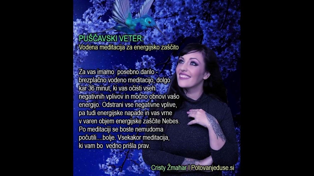 Vodena meditacija energijske zaščite (Cristy Žmahar) 9
