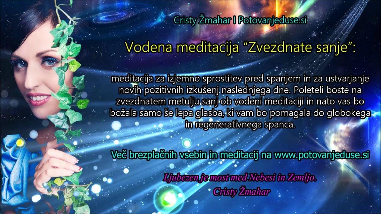 Zvezdnate sanje: vodena meditacija za miren spanec 3