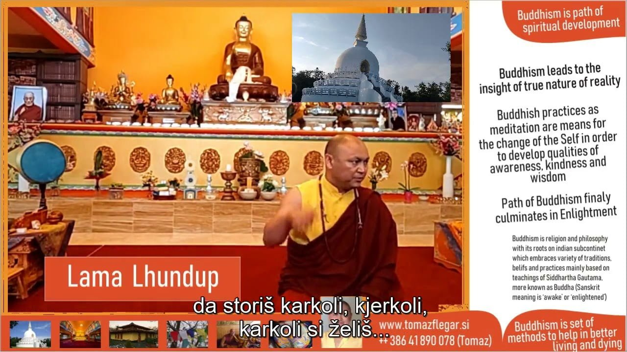Intervju s Tibetanskim Lamo Lhundupom 18