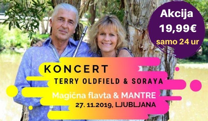 Ponovno v Sloveniji: Terry Oldfield & Soraya, koncert z mantrami 14