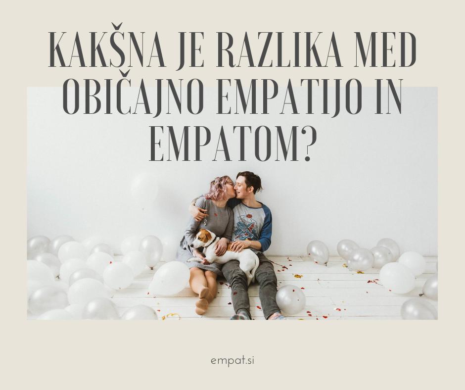 Biti empatičen in biti empat 1