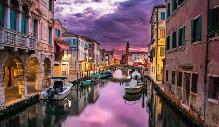 Benetke, moj dom, moj kraj rojstva iz prejšnje inkarnacije