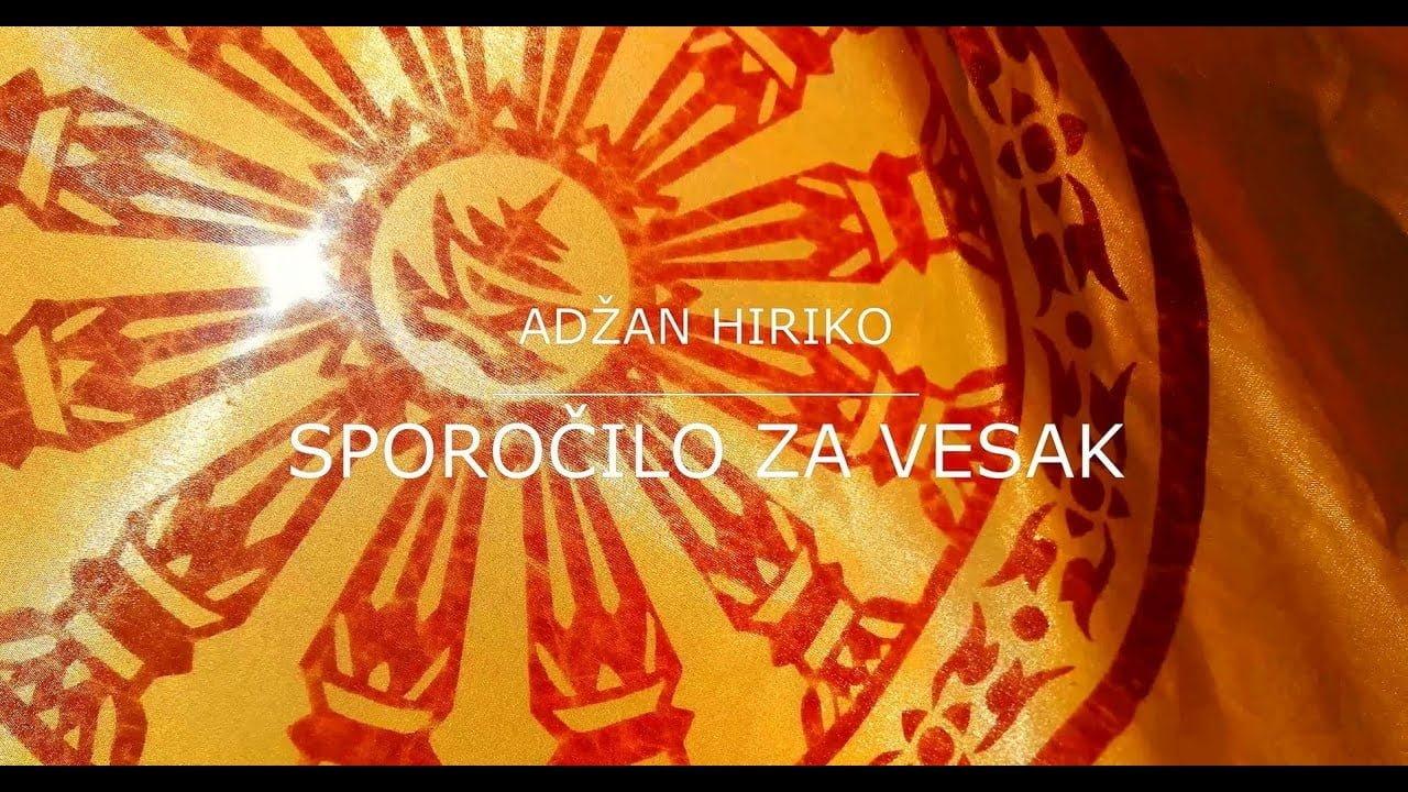 Adžan Hiriko - Sporočilo za Vesak 2020 14