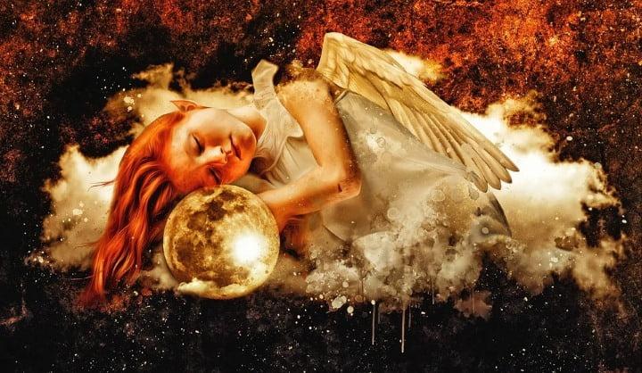 Angeli v mojih laseh 6