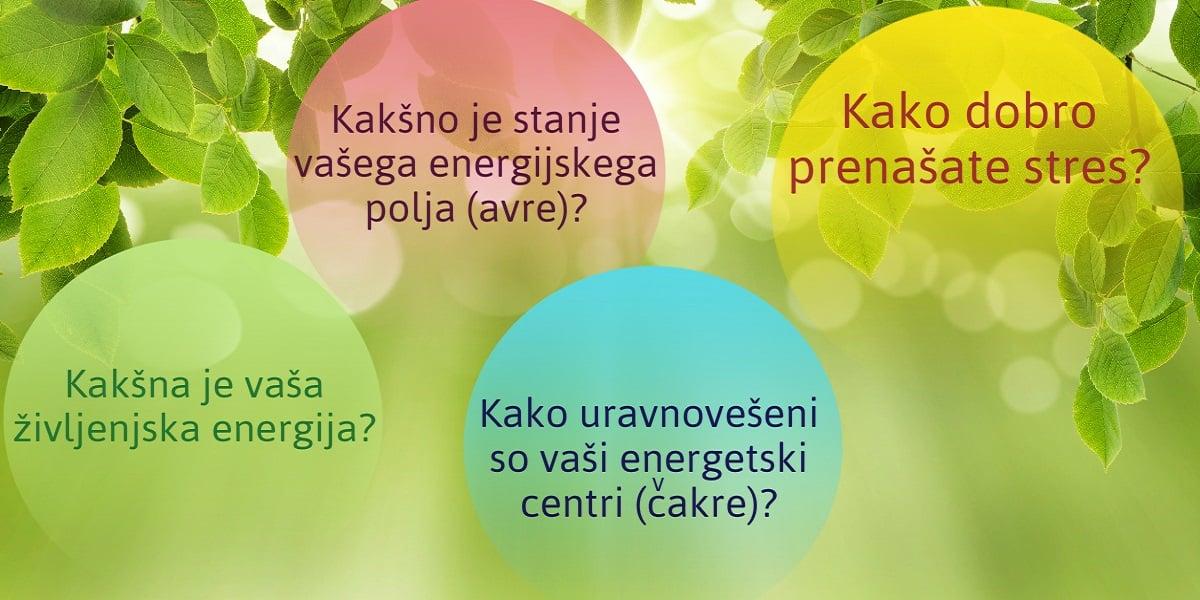 IZMERITE VAŠO ŽIVLJENJSKO ENERGIJO IN PRETOČNOST