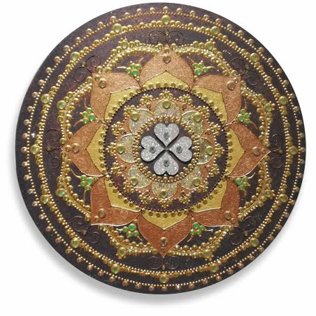 Mandala 4 peresna deteljica 1