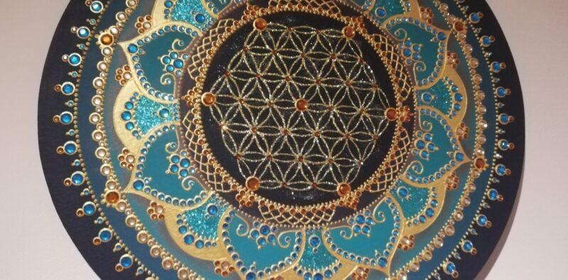 Mandala Roža življenja 2