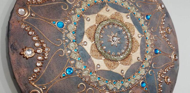 Mandala Beutiful Lady 3