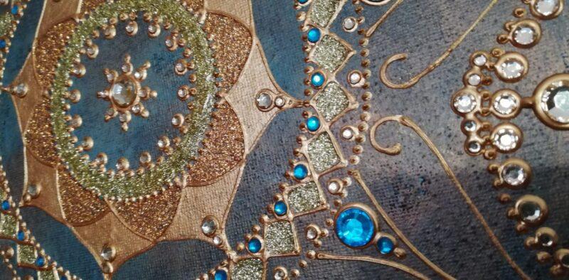Mandala Beutiful Lady 2
