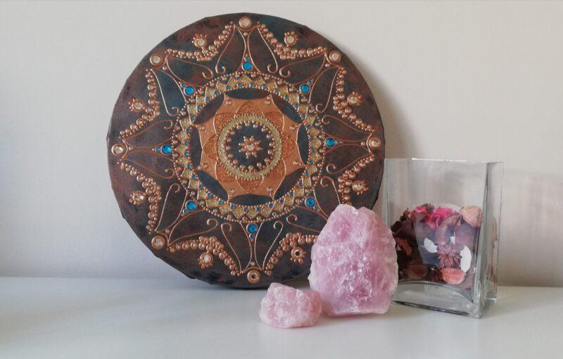 Mandala Beutiful Lady 1