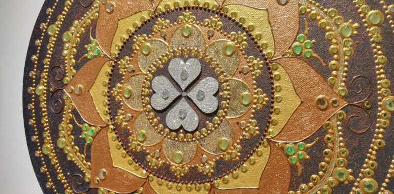 Mandala 4 peresna deteljica 3