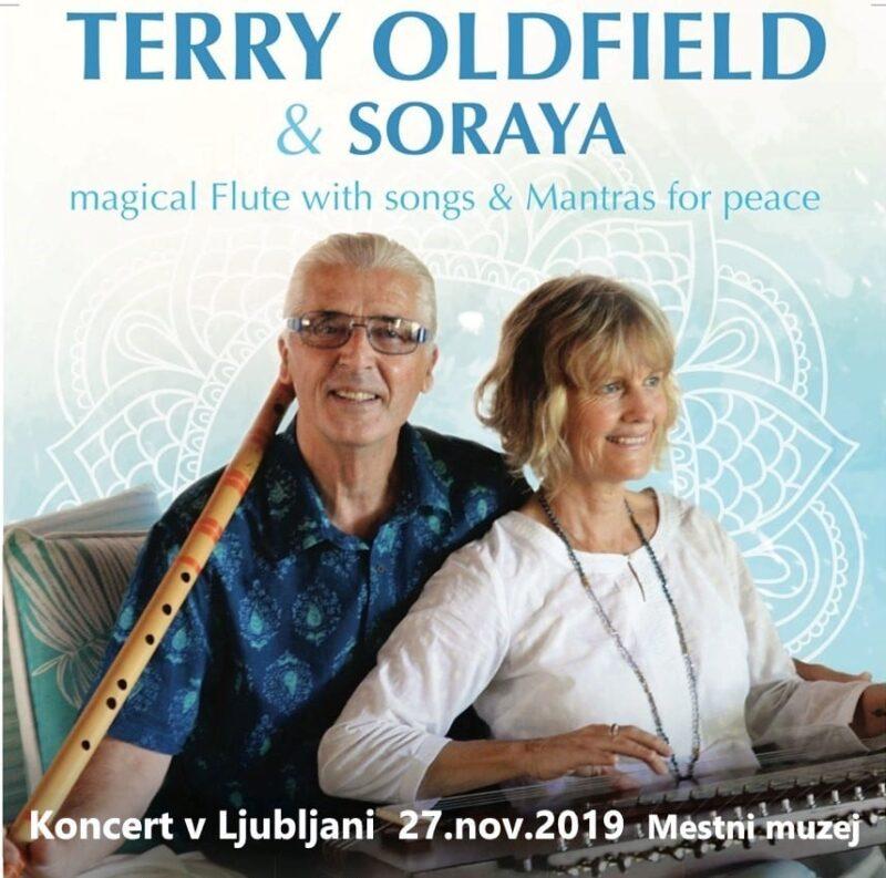 Koncert Terry Oldfield & Soraya - MANTRE 1