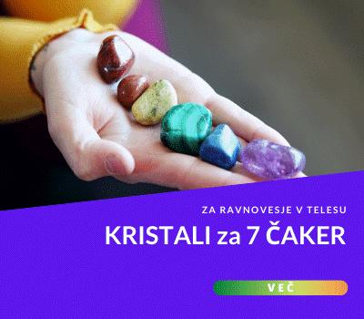 Kristali 7 čaker