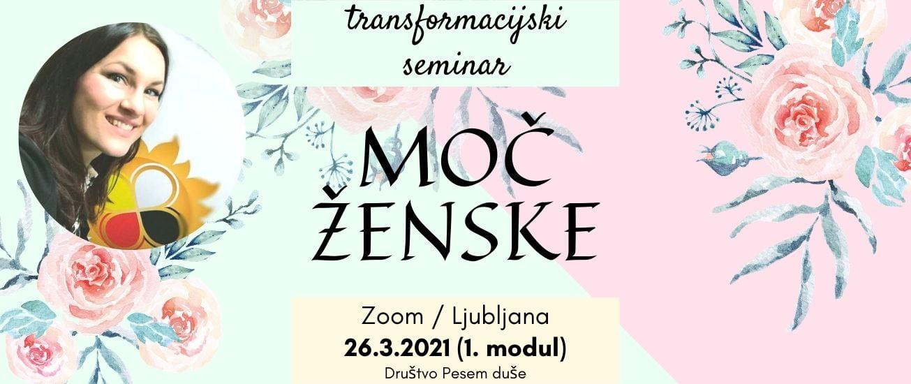 Moč ženske - transformacijski seminar 1
