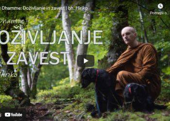 Luč Dhamme: Doživljanje in zavest 1