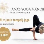 Jutranja joga - Šola izvorne joge (Jana's Yoga Mandira) 28
