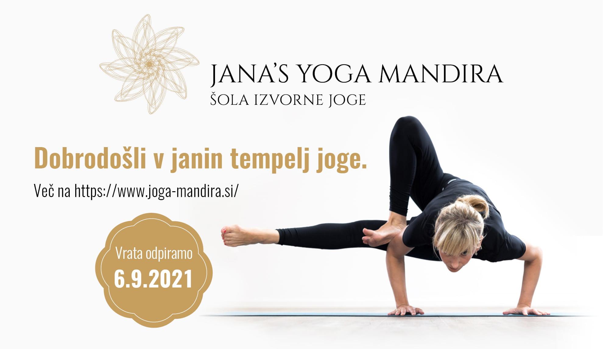 Jutranja joga - Šola izvorne joge (Jana's Yoga Mandira) 8