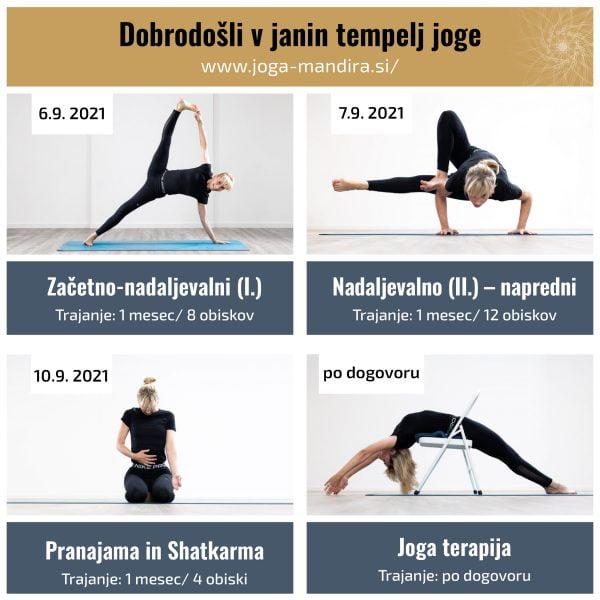 Jutranja joga - Šola izvorne joge (Jana's Yoga Mandira) 10