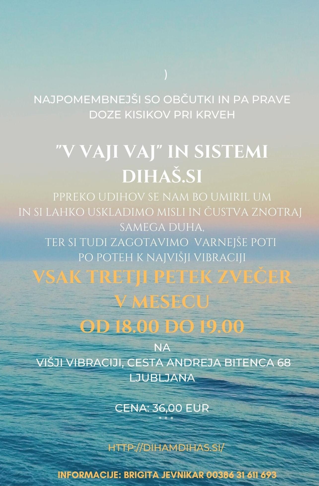 """""""V vaji vaj"""" in sistemi dihaš.si 8"""