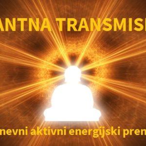 Kvantna transmisija- 4-dnevni aktivni energijski prenos na daljavo 14